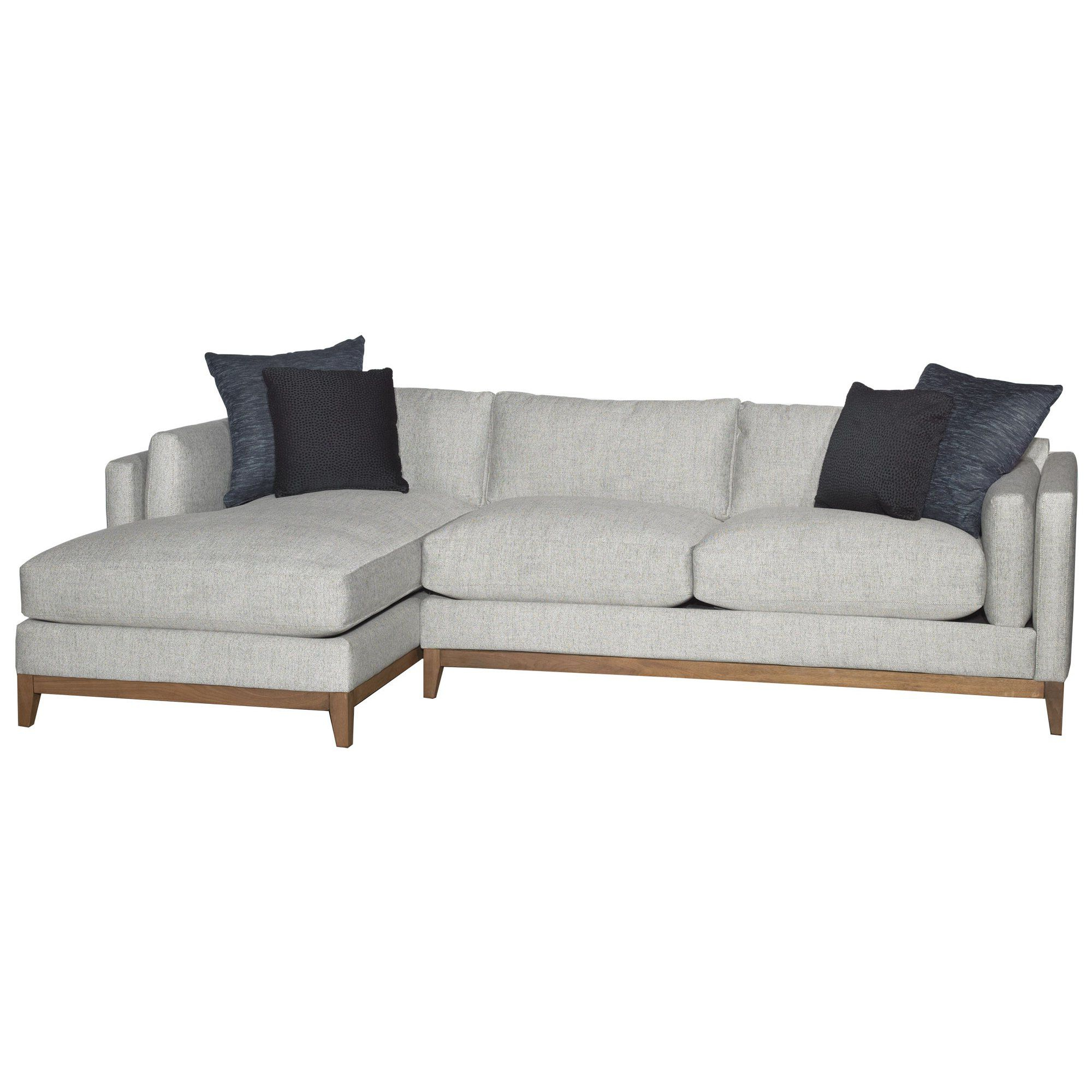 2 For Most Current Dulce Right Sectional Sofas Twill Stone (View 18 of 25)