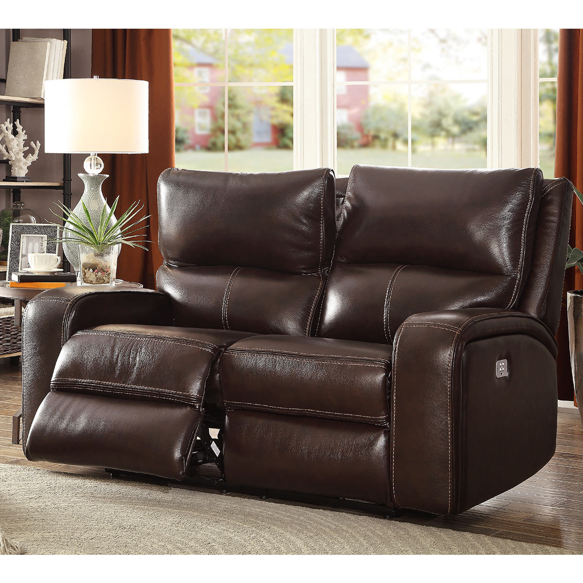2 Seat Leather Reclining Sofa – Sofa Design Ideas For Current Contempo Power Reclining Sofas (View 14 of 15)