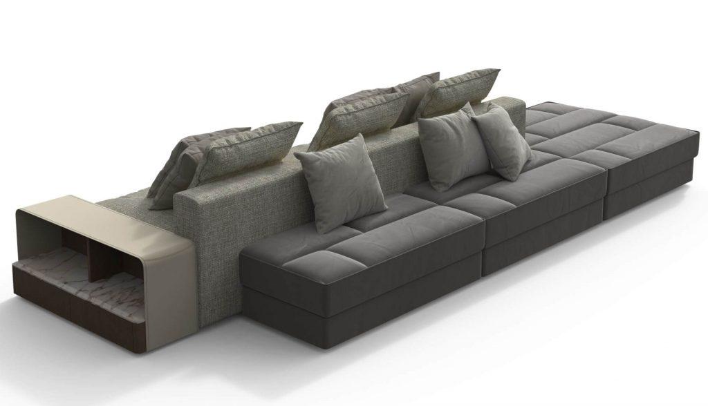 2017 Dream Navy 2 Piece Modular Sofas In Giorgetti Skyline Modular Sofa – Dream Design Interiors Ltd (View 11 of 15)