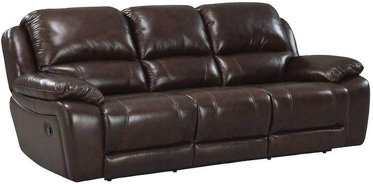 2017 Marco Genuine Leather Power Reclining Sofa – Chocolate With Regard To Marco Leather Power Reclining Sofas (View 13 of 15)