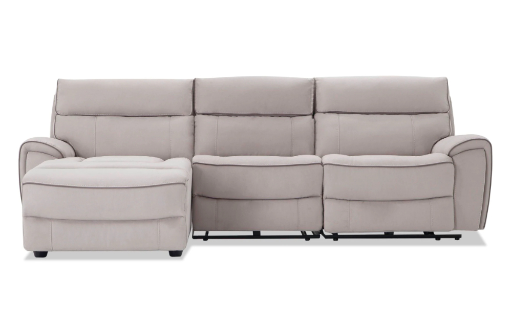2018 Contempo 3 Piece Power Reclining Left Arm Facing Sectional Intended For Contempo Power Reclining Sofas (View 1 of 15)