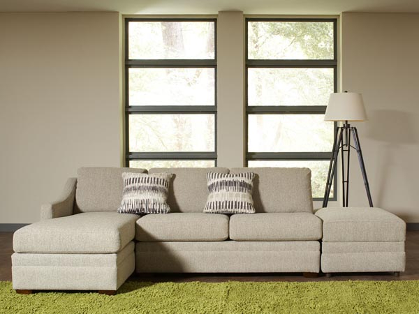 2018 Hannah Right Sectional Sofas Throughout Rent The Ballard Sectional Sofa With Right Arm Facing (View 23 of 25)