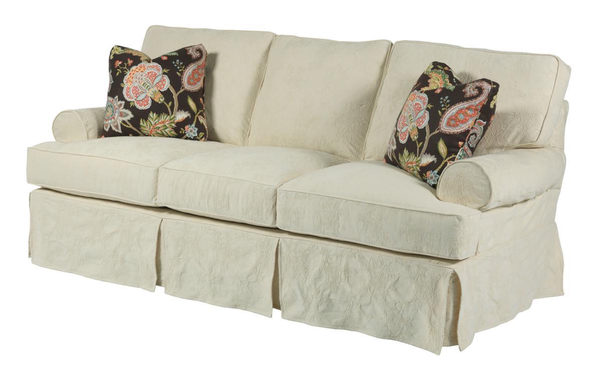 2018 Lyvia Pillowback Sofa Sectional Sofas Throughout Kincaid Furniture Samantha Samantha Three Seat Sofa With (View 15 of 25)