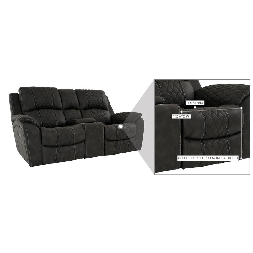 2018 Panther Leather Power Reclining Sofa Console Loveseat Intended For Panther Fire Leather Dual Power Reclining Sofas (View 12 of 15)