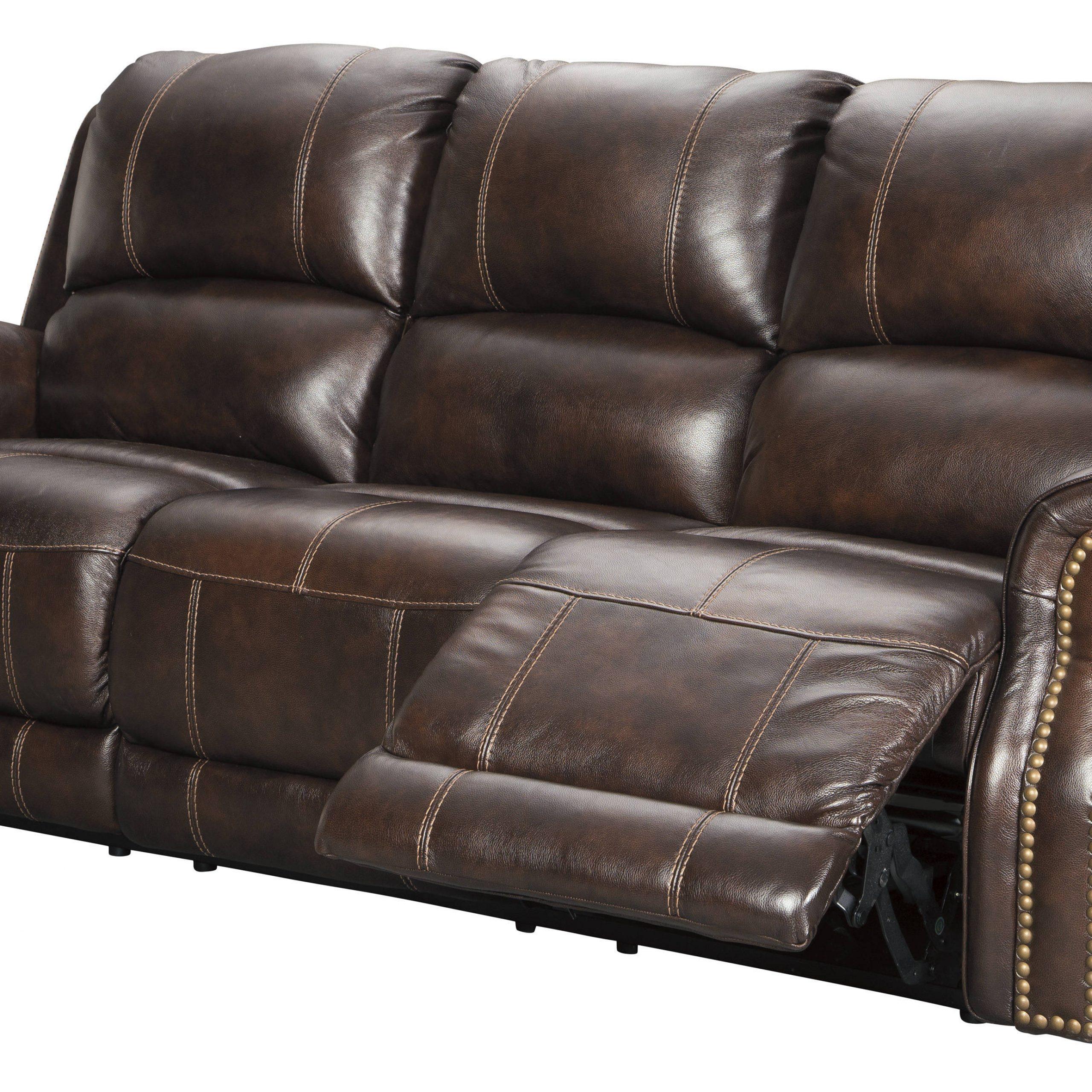 2018 Raven Power Reclining Sofas Regarding Ashley Furniture Buncrana Power Reclining Sofa With (View 15 of 15)