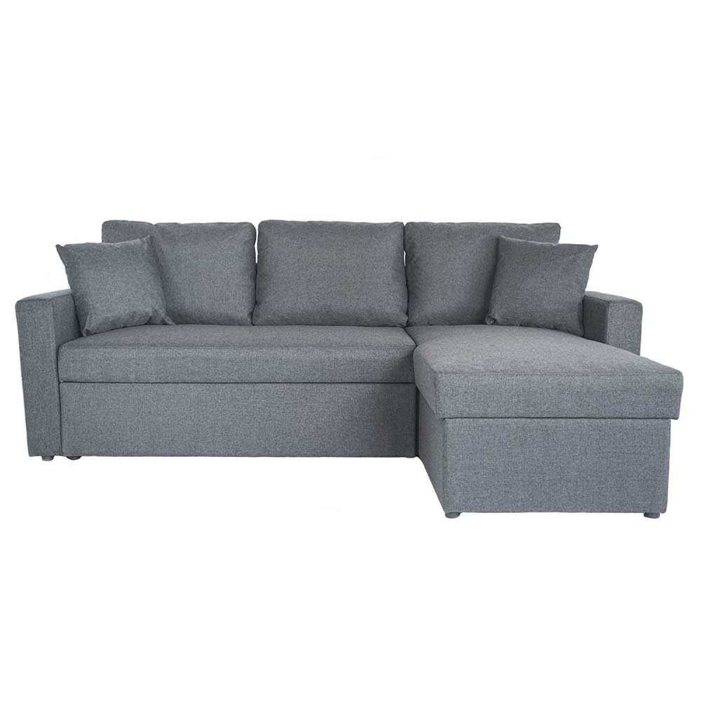 2018 Small Sectional Sleeper Sofa With Pull Out Ottoman With Hartford Storage Sectional Futon Sofas (View 14 of 25)