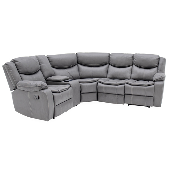 2Pc Maddox Right Arm Facing Sectional Sofas With Chaise Brown Pertaining To Most Popular Merryn Sectional Fabric Right Arm Facing Sofa In Grey (View 4 of 25)