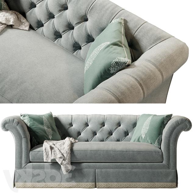 3D Models: Sofa – Lexington Charleston Sofa Regarding Most Current Charleston Sofas (View 10 of 15)