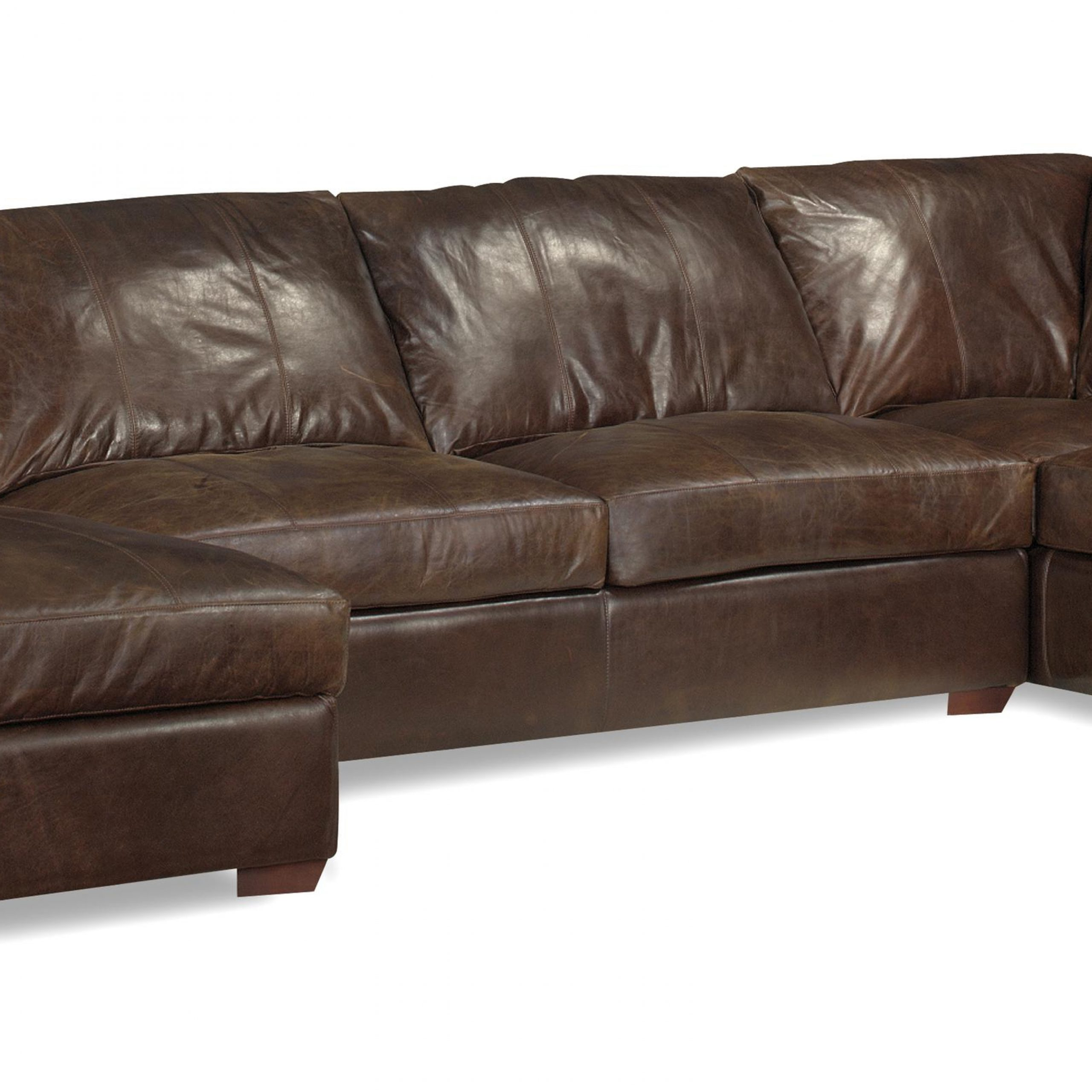 3Pc Miles Leather Sectional Sofas With Chaise With Regard To 2018 Leather Chaise Sectional Sofa Abbyson Tuscan Top Grain (View 5 of 25)