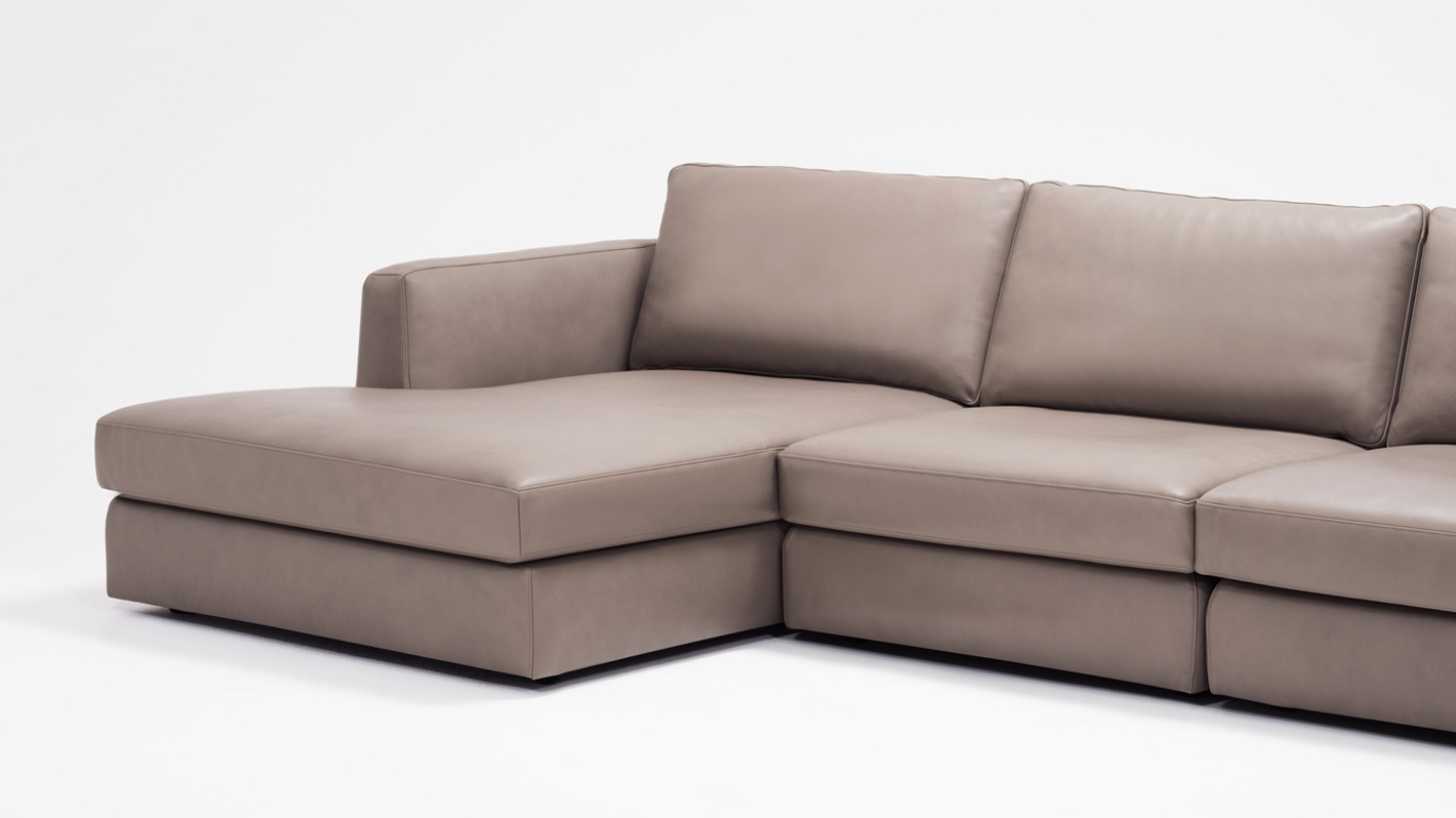3Pc Miles Leather Sectional Sofas With Chaise With Regard To Most Recently Released Cello 3 Piece Sectional Sofa With Chaise – Leather (View 23 of 25)