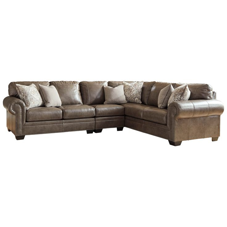 3Pc Miles Leather Sectional Sofas With Chaise Within Best And Newest Roleson 3 Piece Sectionalsignature Designashley At (View 3 of 25)