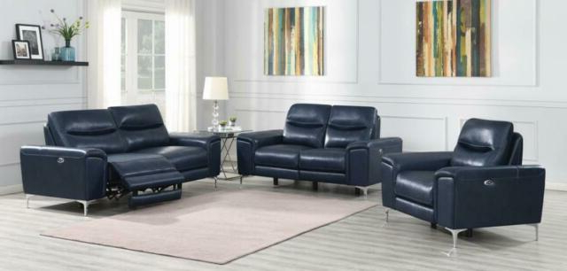 3Pc Power Sofa Set Contemporary Living Room Furniture Ink Throughout Most Recent Bloutop Upholstered Sectional Sofas (View 10 of 25)