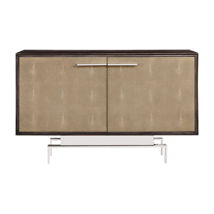 4Pc Alexis Sectional Sofas With Silver Metal Y Legs Intended For Fashionable Latham Credenza – Small (View 22 of 25)