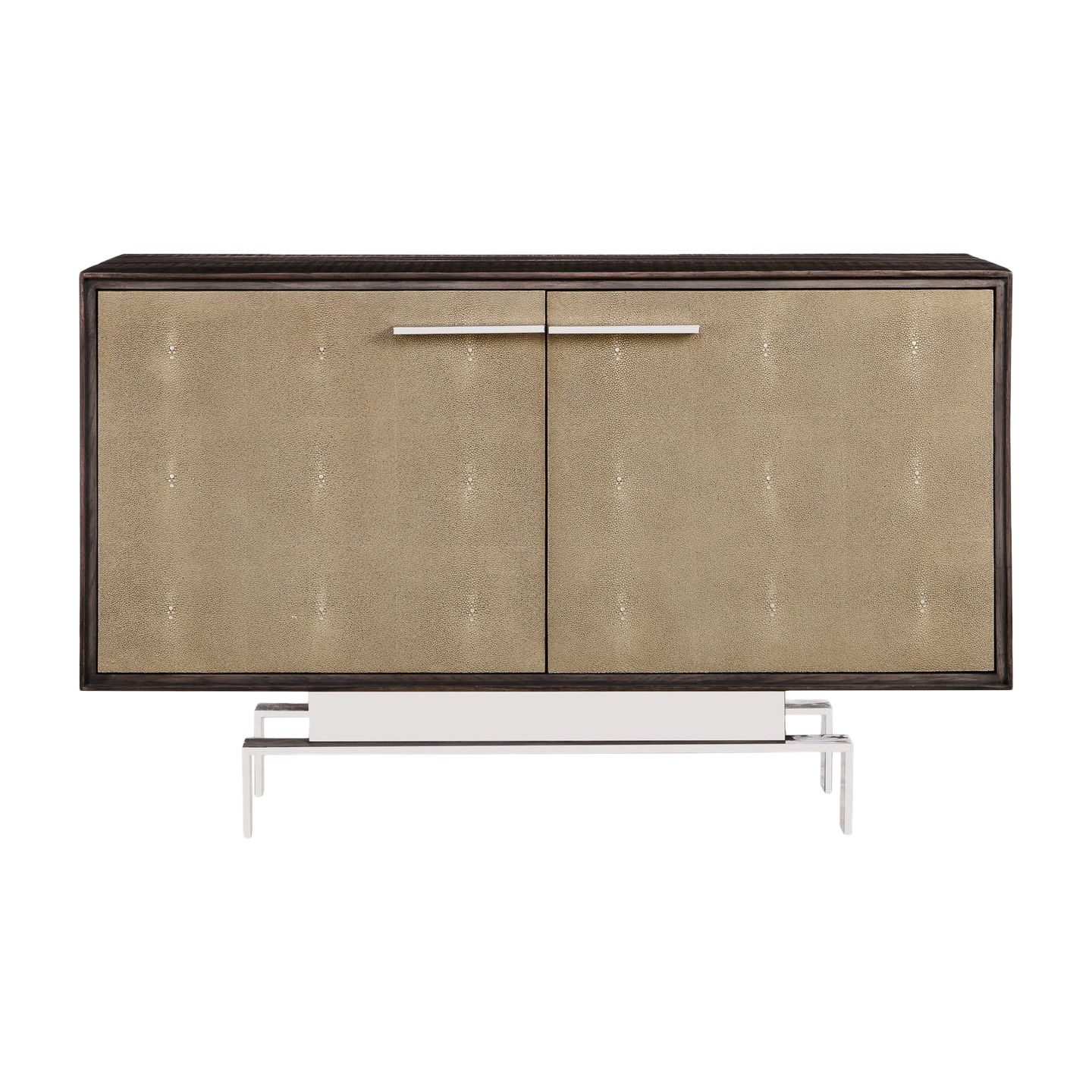4Pc Alexis Sectional Sofas With Silver Metal Y Legs Within Fashionable Latham Credenza – Small (View 25 of 25)