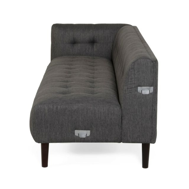 4Pc Beckett Contemporary Sectional Sofas And Ottoman Sets Within Well Known Contemporary Modern Upholstered Fabric 4Pc Sectional Sofa (View 23 of 25)
