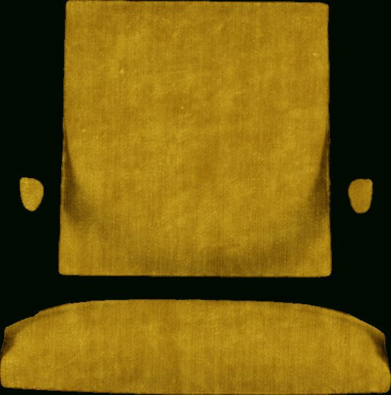 4Pc French Seamed Sectional Sofas Oblong Mustard With Most Popular Hidden Mill – Furnituredesign (View 10 of 25)