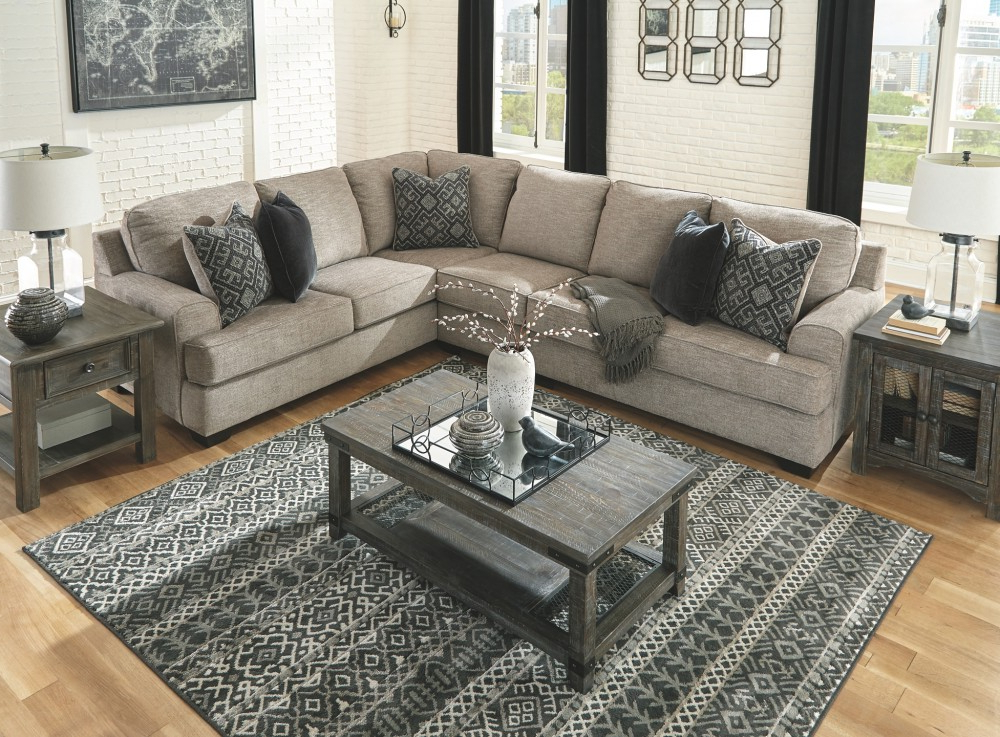 56103S2/46/49/55 Within 3Pc Polyfiber Sectional Sofas (View 21 of 25)