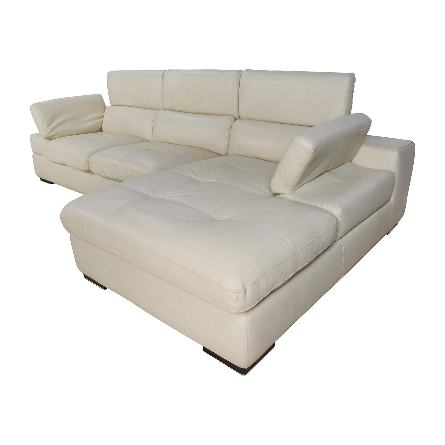 [%69% Off – L Shaped Cream Leather Sectional Sofa / Sofas For Trendy Owego L Shaped Sectional Sofas Owego L Shaped Sectional Sofas Inside Current 69% Off – L Shaped Cream Leather Sectional Sofa / Sofas Most Popular Owego L Shaped Sectional Sofas Pertaining To 69% Off – L Shaped Cream Leather Sectional Sofa / Sofas Preferred 69% Off – L Shaped Cream Leather Sectional Sofa / Sofas Pertaining To Owego L Shaped Sectional Sofas%] (View 15 of 25)