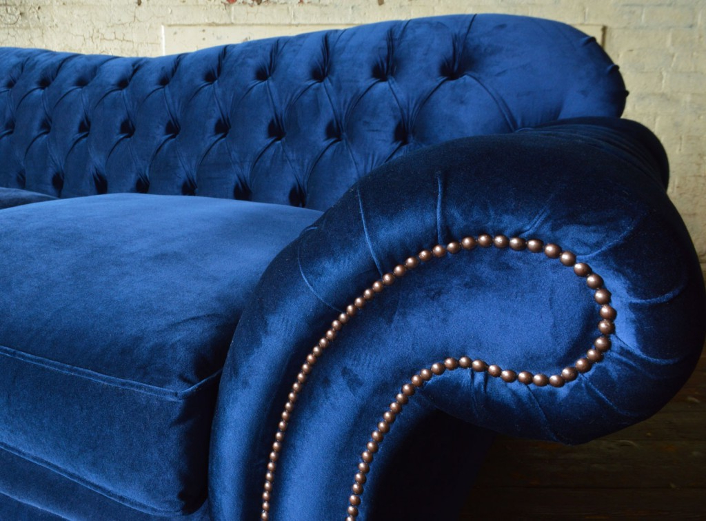 Abode Sofas With Regard To French Seamed Sectional Sofas In Velvet (View 23 of 25)
