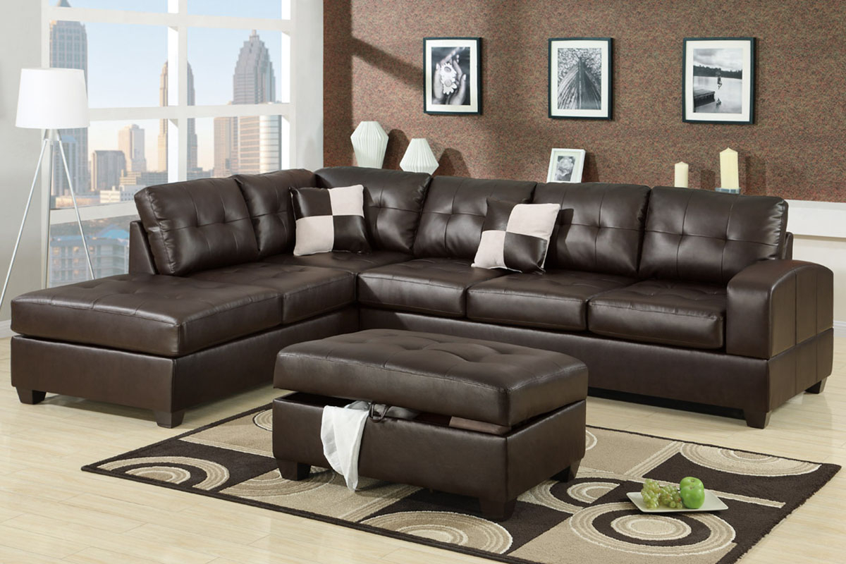 Admirable 2 Piece Sectional Sofas With Chaise Flooding Regarding Newest 4Pc Crowningshield Contemporary Chaise Sectional Sofas (View 7 of 25)