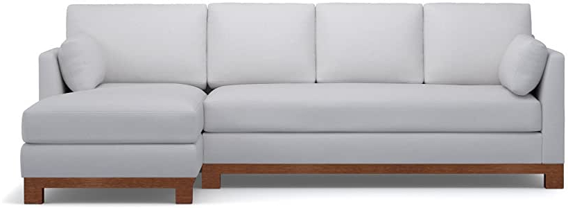 Amazon: Avalon 2 Piece Sectional Sofa, Stone, Raf Within Popular Dulce Right Sectional Sofas Twill Stone (View 17 of 25)