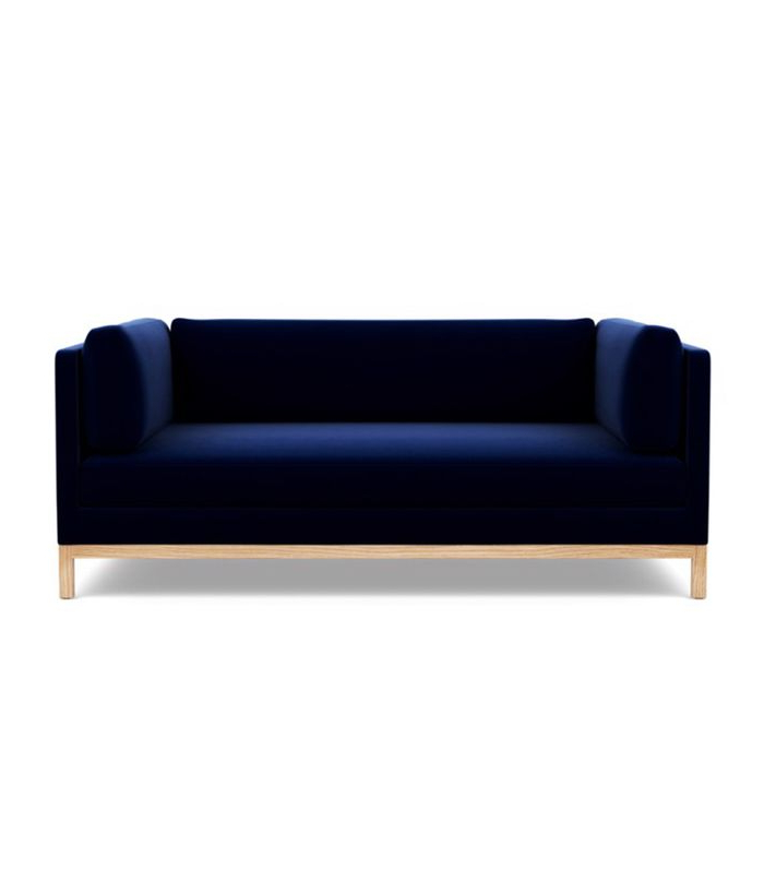 Annette Navy Sofas Intended For Most Recent Navy Blue Sofa Blue Sofas With Ocean Navy Sky Sofa Work (View 12 of 15)