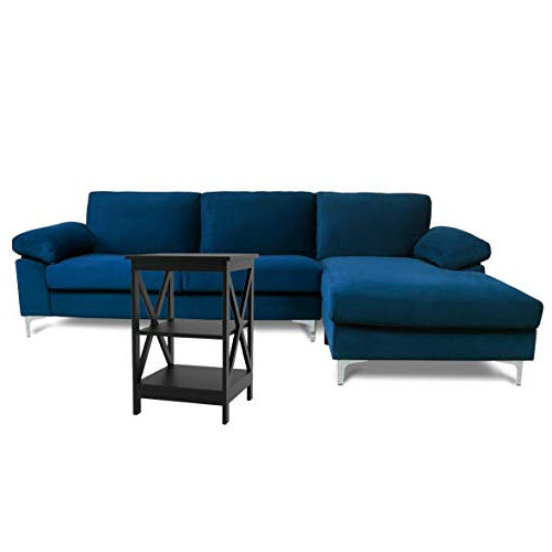 Artisan Blue Sofas With 2017 Sectional Sofas For Living Room Blue Couch Comfortable (View 4 of 15)