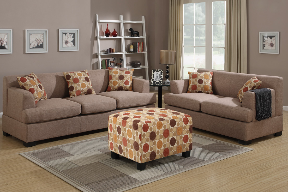 Beige Sofas For Most Popular Montreal Iv Beige Fabric Sofa – Steal A Sofa Furniture (View 11 of 15)