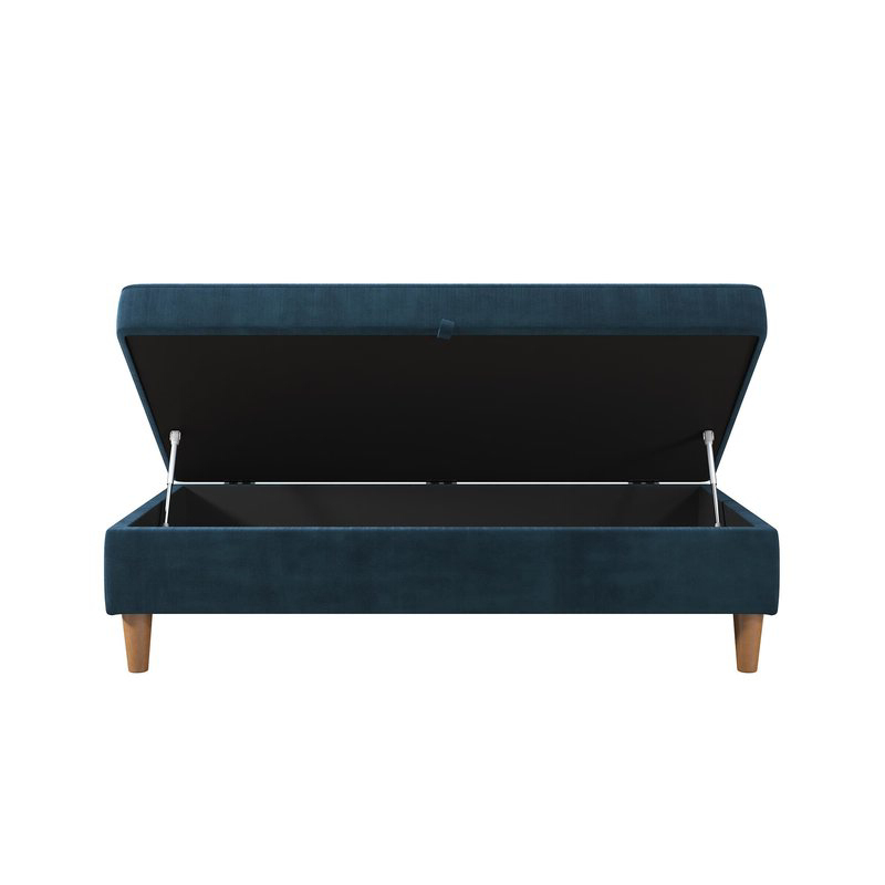 Best And Newest 3Pc Hartford Storage Sectional Futon Sofas And Hartford Storage Ottoman Tan With Zipcode Design Hephzibah Storage Ottoman & Reviews (View 18 of 23)