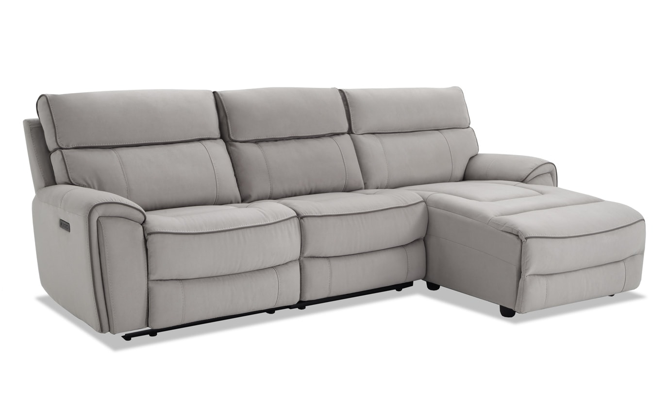 Best And Newest Contempo Power Reclining Sofas With Regard To Contempo 3 Piece Power Reclining Right Arm Facing (View 8 of 15)