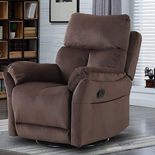 Best And Newest Forte Gray Power Reclining Sofas For New Canmov Swivel Rocker Recliner Chair, Manual Reclining (View 12 of 15)