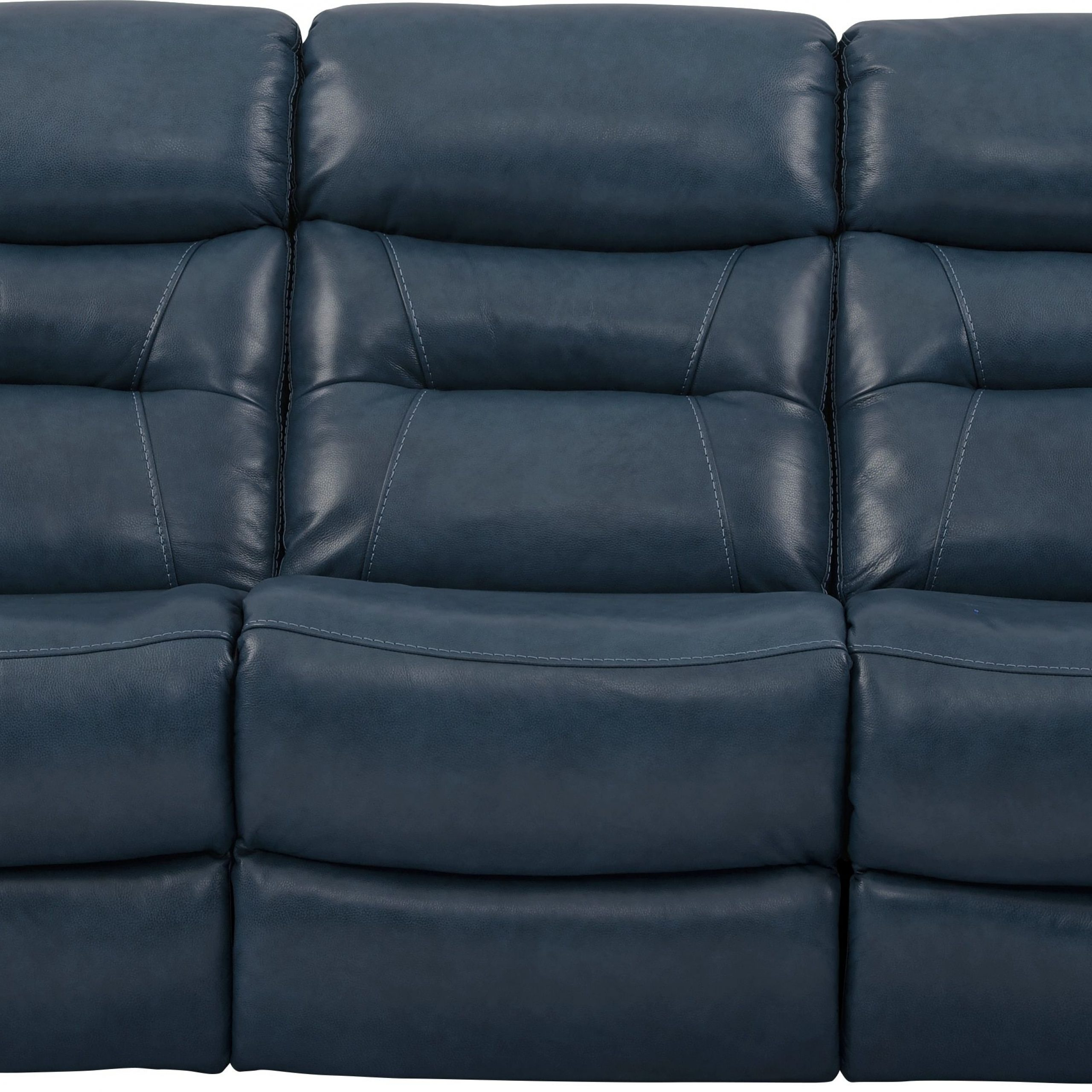 Bloutop Upholstered Sectional Sofas Pertaining To 2017 Blue Reclining Sofa Get The Best Of 2018 Sofas Market Blue (View 22 of 25)