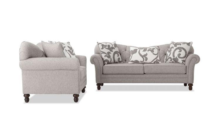 Blue Sofa Set (View 1 of 15)