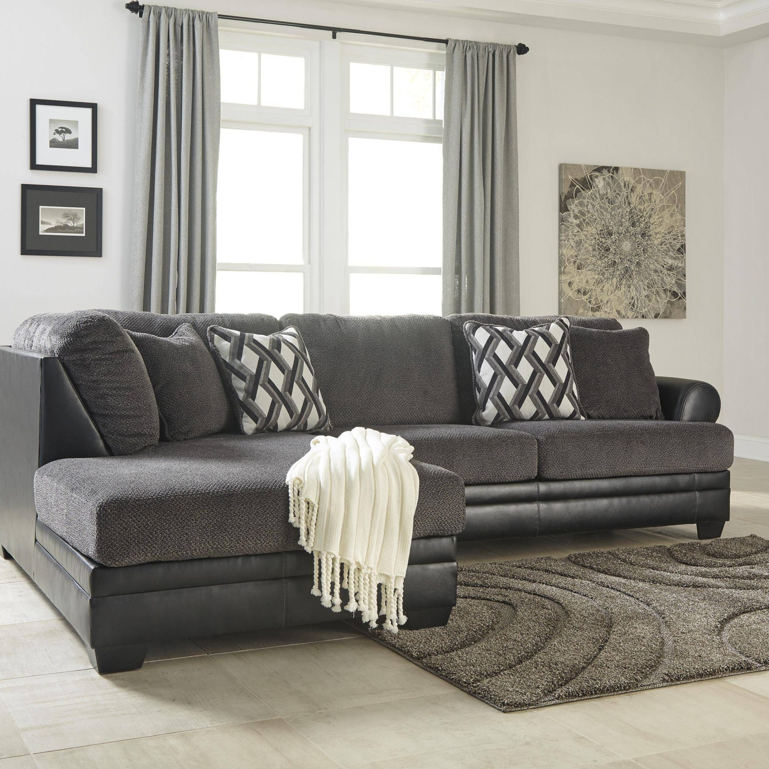 Buy Ashley Kumasi Sectional Sofa Set Right Hand Chase In With Latest Hannah Right Sectional Sofas (View 7 of 25)