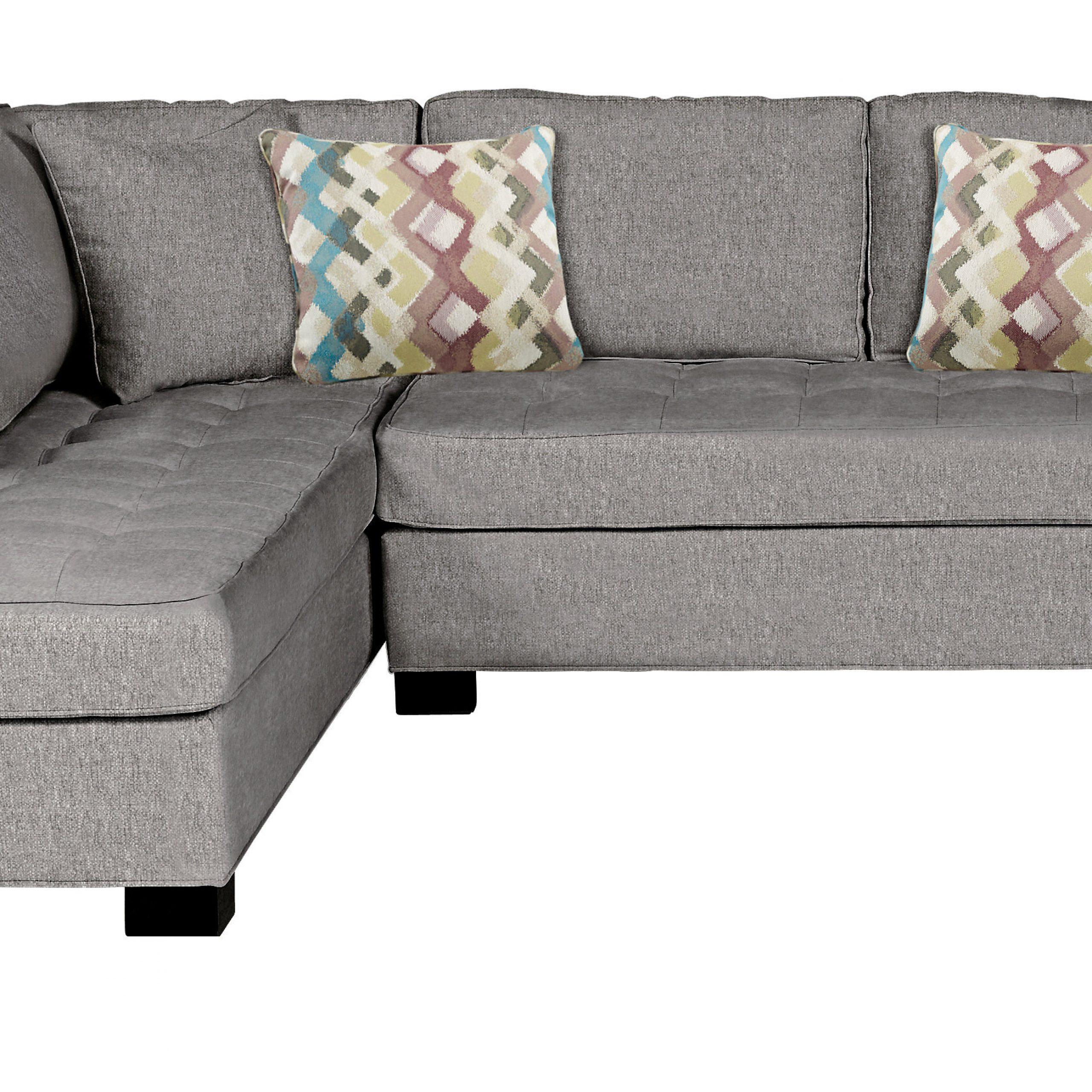 Calvin Concrete Gray Sofas With Preferred $1, (View 3 of 15)