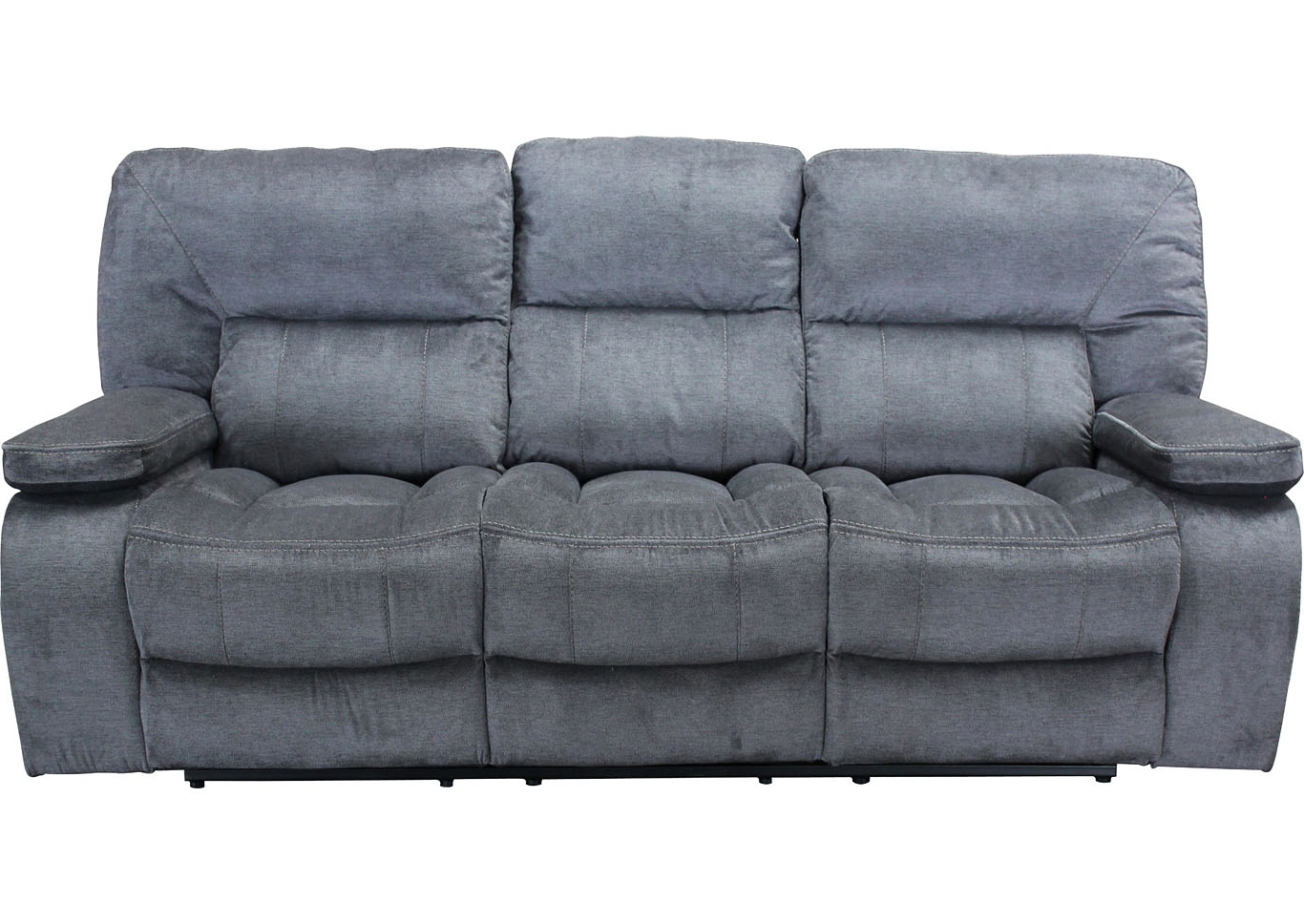 Camila Poly Blend Sectional Sofas Off White With Fashionable Chapman Triple Reclining Sofa And Dual Reclining Love Seat (View 6 of 25)