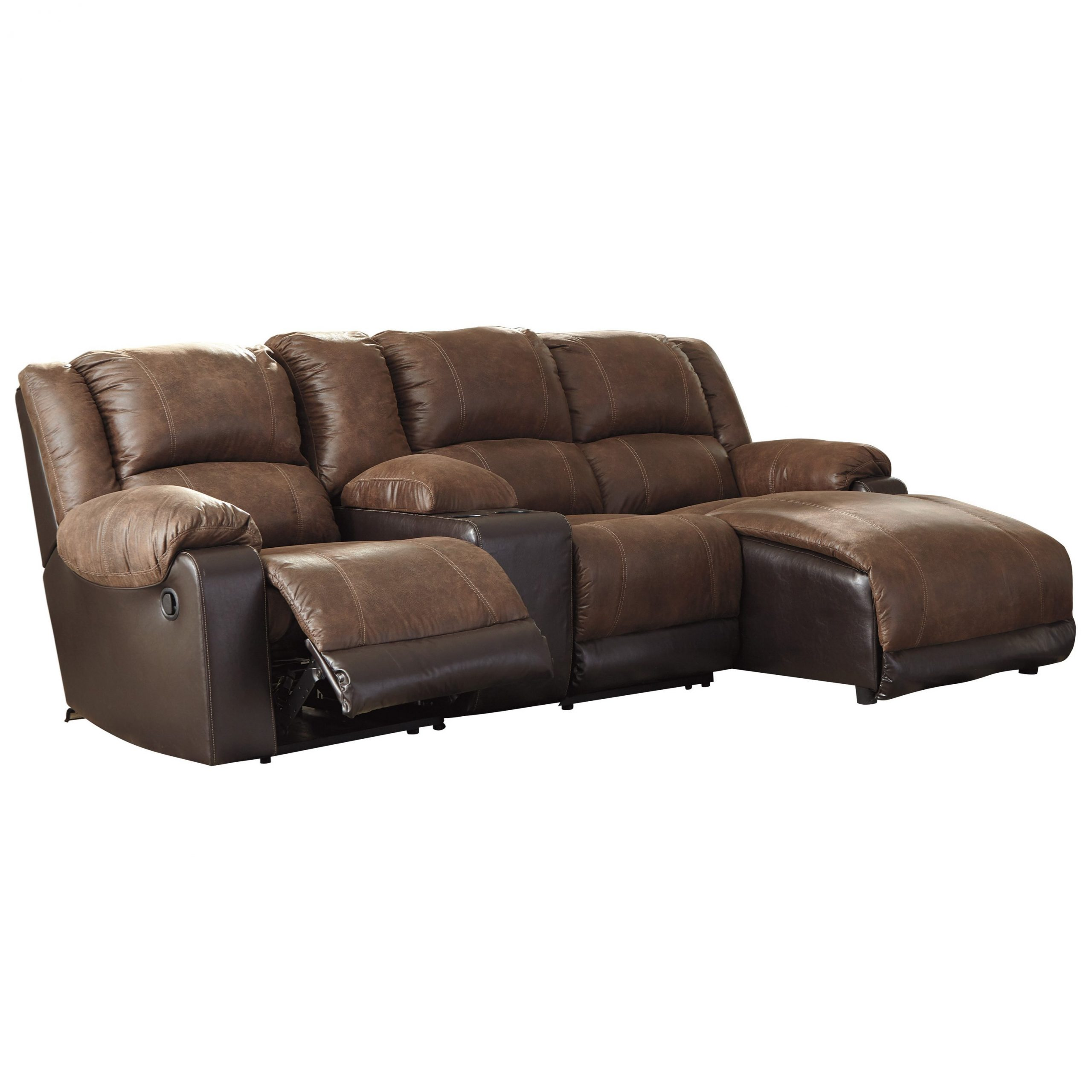Celine Sectional Futon Sofas With Storage Reclining Couch Inside Well Known Signature Designashley Nantahala Reclining Chaise Sofa (View 6 of 25)