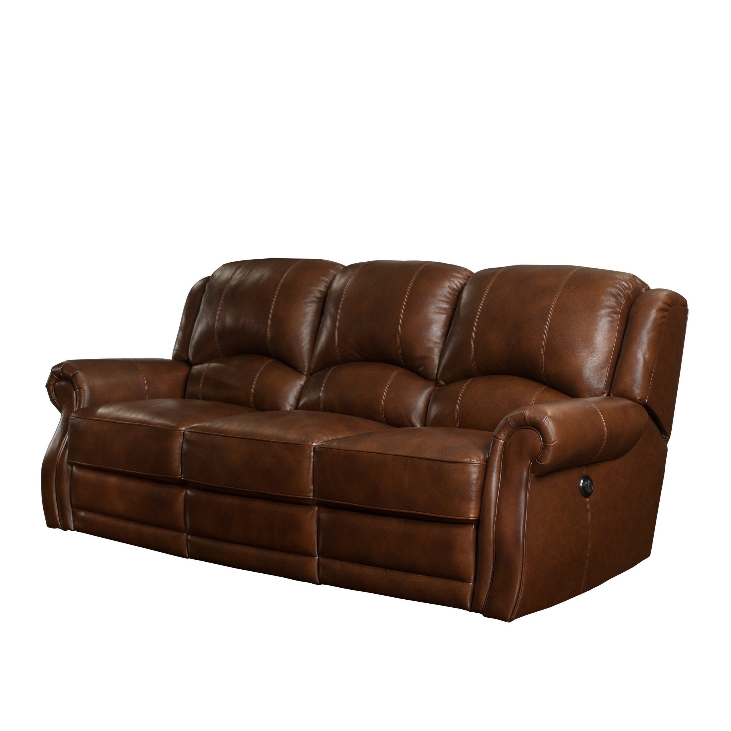 Charleston Power Reclining Sofas With Regard To Recent Barcalounger Cedar Hill Casual Comforts Power Leather (View 15 of 15)