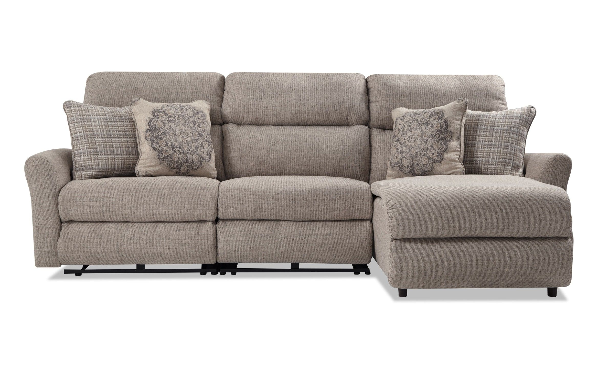 Charleston Triple Power Reclining Sofas Throughout Most Up To Date Charleston 3 Piece Right Arm Facing Power Reclining (View 8 of 15)