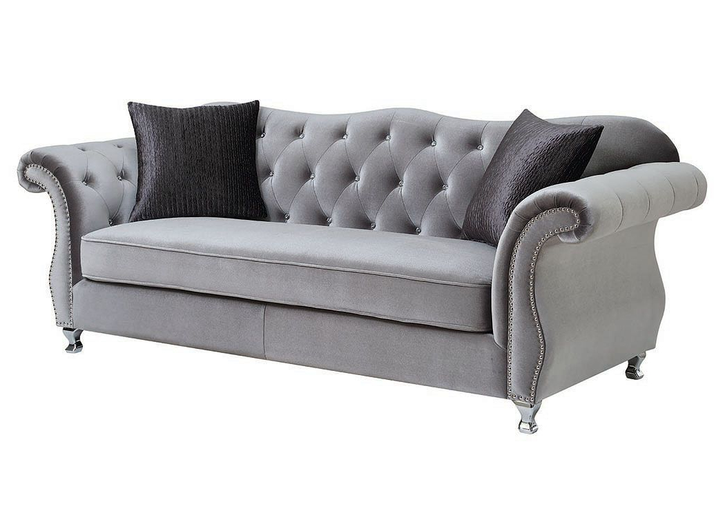 Chromed Sofa,Coaster Furniture (View 12 of 25)