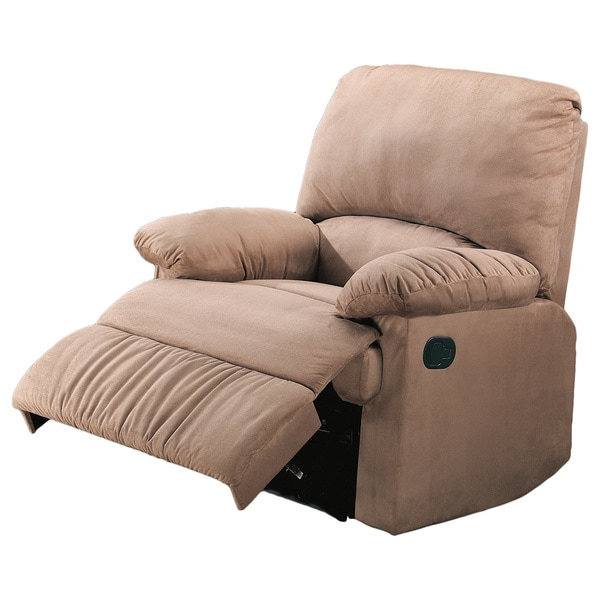 Coaster Company Casual Microfiber Recliner Chair Pertaining To Preferred Colby Manual Reclining Sofas (View 5 of 15)