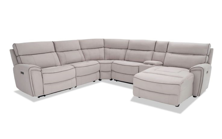 Contempo Power Reclining Sofas With Most Current Contempo 6 Piece Power Reclining Right Arm Facing (View 2 of 15)