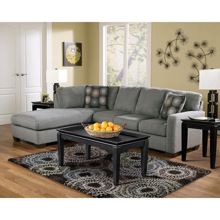 Contemporary Regarding Well Known 2Pc Maddox Right Arm Facing Sectional Sofas With Chaise Brown (View 23 of 25)