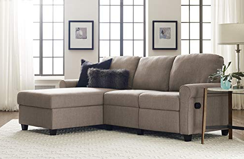 Copenhagen Reclining Sectional Sofas With Left Storage Chaise For Most Current Serta Copenhagen Reclining Sectional With Right Storage (View 3 of 25)