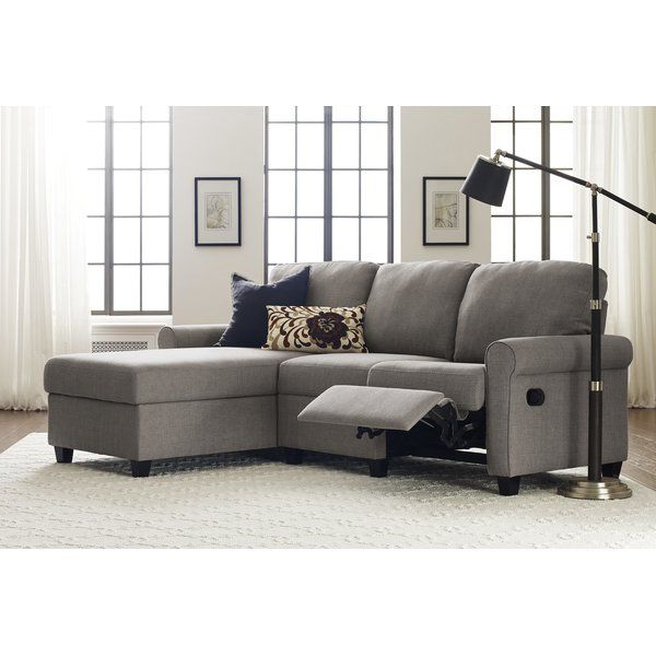 """Copenhagen Reclining Sectional Sofas With Left Storage Chaise Inside Well Known Copenhagen 89"""" Wide Reclining Sofa & Chaise (View 7 of 25)"""