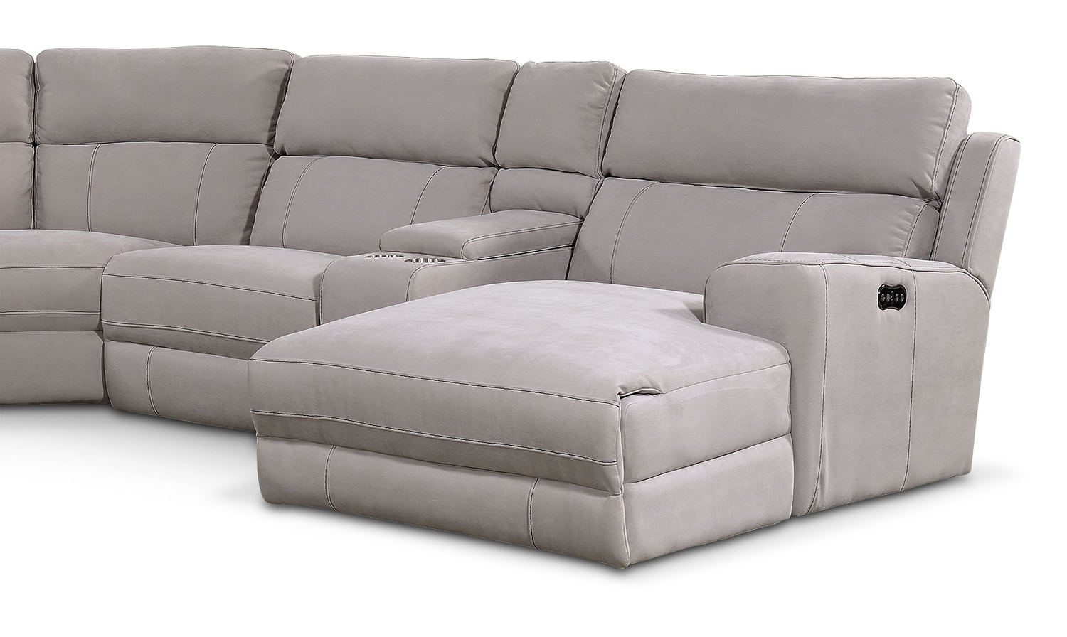 Copenhagen Reclining Sectional Sofas With Left Storage Chaise With Regard To Most Recently Released Newport 6 Piece Power Reclining Sectional With Left Facing (View 10 of 25)
