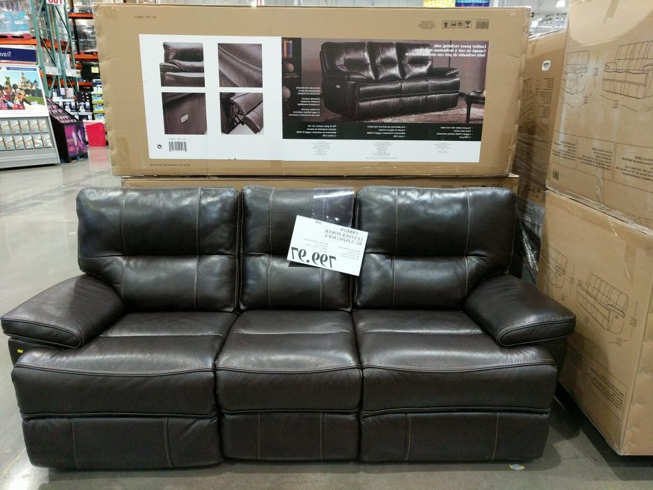 Costco97 Inside Most Current Raven Power Reclining Sofas (View 13 of 15)