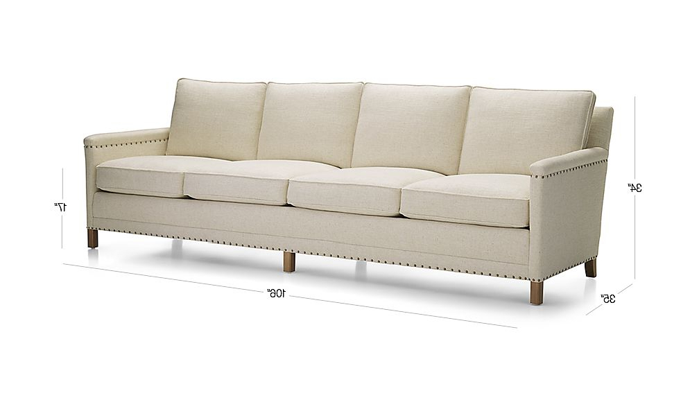 Crate And Barrel Throughout Trevor Sofas (View 5 of 15)