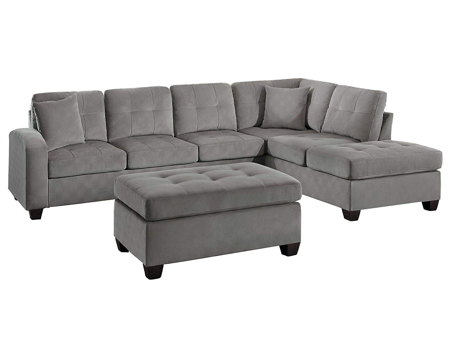 Current 3Pc Hartford Storage Sectional Futon Sofas And Hartford Storage Ottoman Tan With Regard To Cheap Chaise Ottoman, Find Chaise Ottoman Deals On Line At (View 22 of 23)