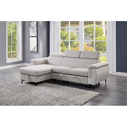 Current Harmon Roll Arm Sectional Sofas For Lexicon Cadence Microfiber Reversible Sectional Sofa In (View 11 of 25)